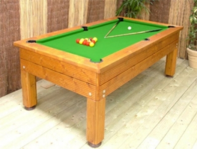 BWL 6ft Evergreen Outdoor Pool Table