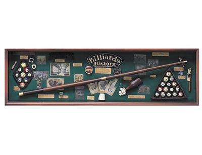 Large Billiards History Box