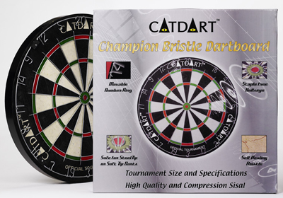 CatDart Champion Tournament Dart Board