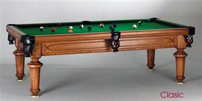 Classic Vintage 8ft Pool Table
