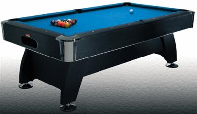 7' Deluxe Pool Table ( BCE Black Cat)