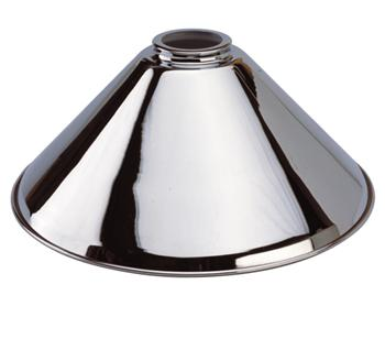 Set of 3 Chrome Lighting Shades