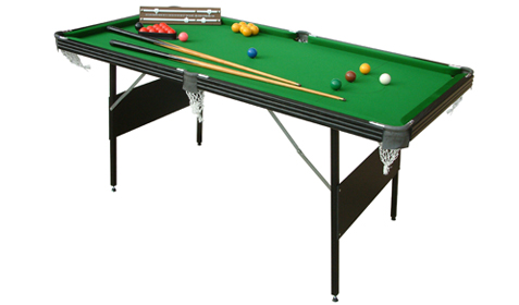 Crucible 6ft Folding Snooker/Pool Table