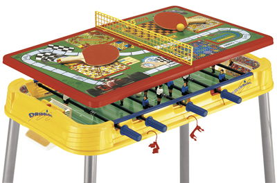 Dribbling Plus Multigames Table