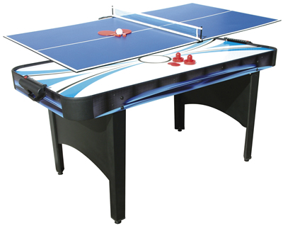 Typhoon 2in1 Air Hockey / Table Tennis Table