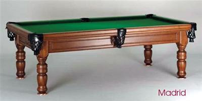 Madrid Vintage 8ft Pool Table