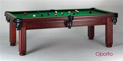 Oporto Vintage 7ft Pool / Dining Table