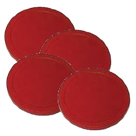 Air Hockey Pucks (63mm dia) - Pack of 4