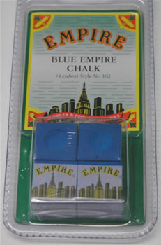 Pack of 4 Empire Blue Chalk