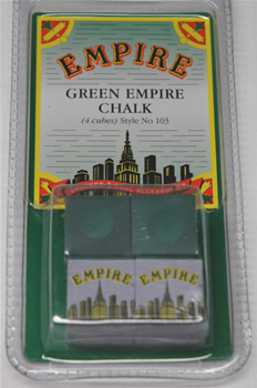Pack of 4 Empire Green Chalk