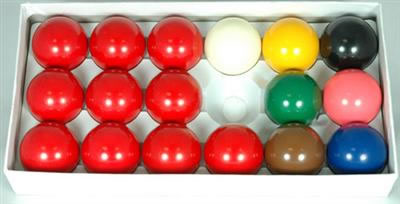 Snooker Balls 1 7/8in