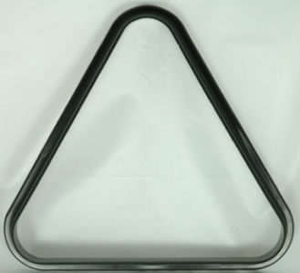 Black Plastic Triangle for 15 x 2 1/4inch balls