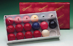 2 in Supapro Snooker Balls (17 balls)