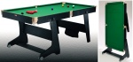 6' Folding Leg Snooker/Pool Table